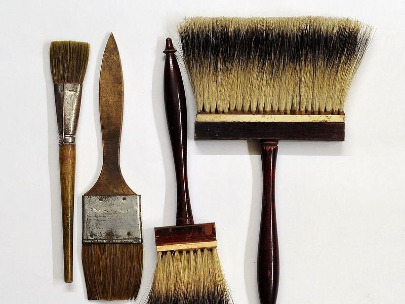 刷毛の保管と保存箱はどうされていますか?