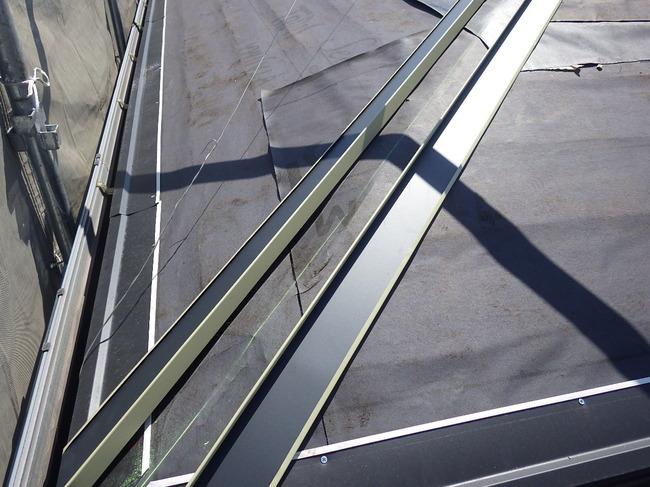 川口市 屋根カバー工法 ニチハ横暖ルーフαプレミアムS