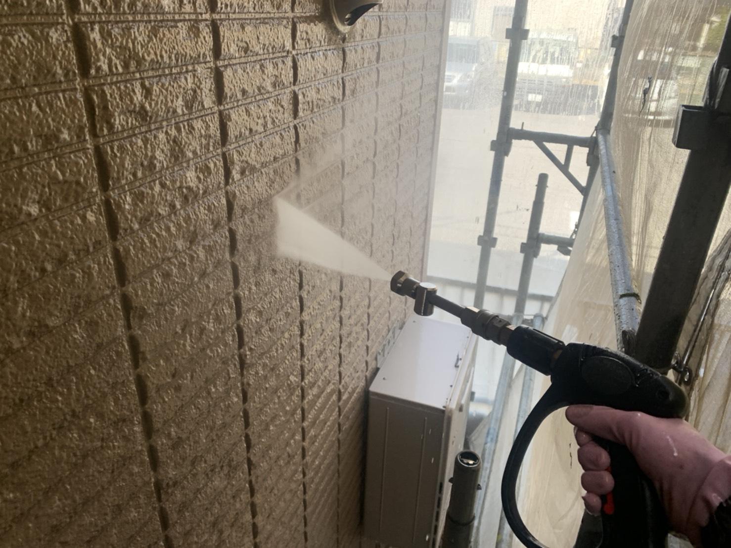 さいたま市 屋根・外壁高圧洗浄について