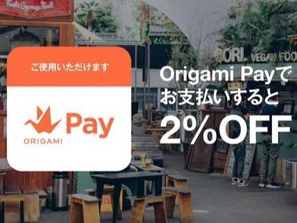 スマートフォン決済サービス『Origami Pay』導入!!
