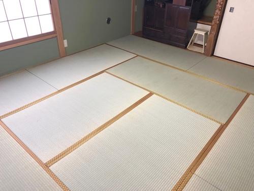 畳床は再利用!畳の表替えで新品同様!('◇')ゞ