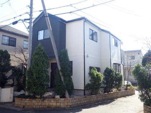 屋根は機能性塗料のキルコート!!外壁は3分艶縦割りでスタイリッシュに!