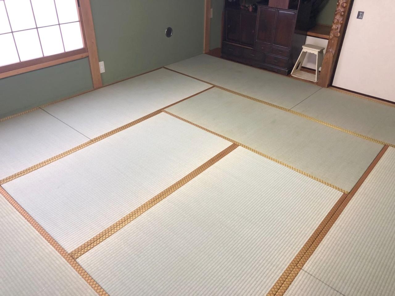 畳の表替え&襖の張替え!