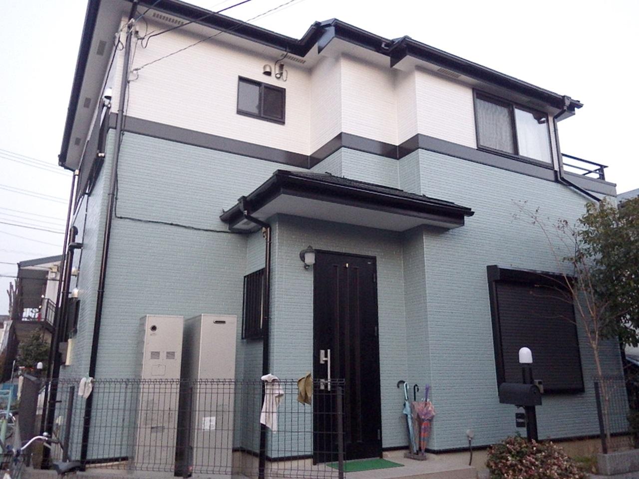 屋根外壁フッ素塗装で高耐候仕上げ!
