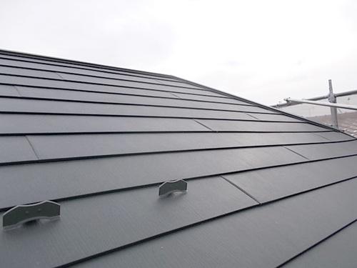 ガルバリウム鋼板へ屋根の葺き替え♪