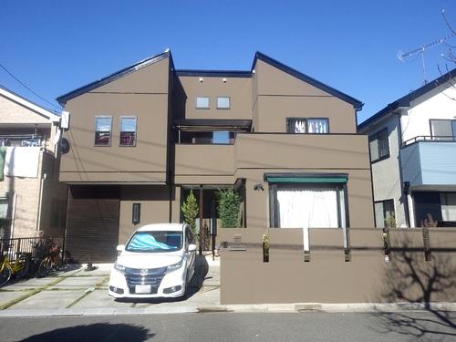 屋根の欠損補修は火災保険で!艶消し濃彩で重厚感あふれる風合いに♪