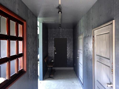 内装塗装!塗り壁はかなりオシャレ♪