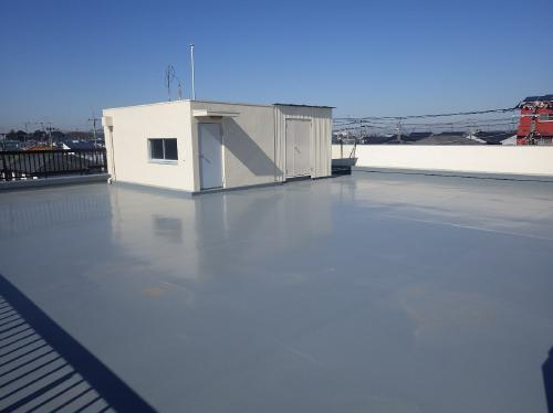 外装改修に加え、防水工事も追加した為、当面安心できます。