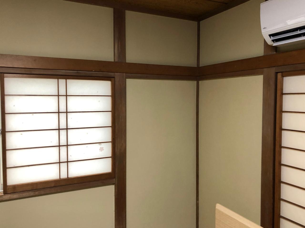 さいたま市 和室の京壁塗装♪