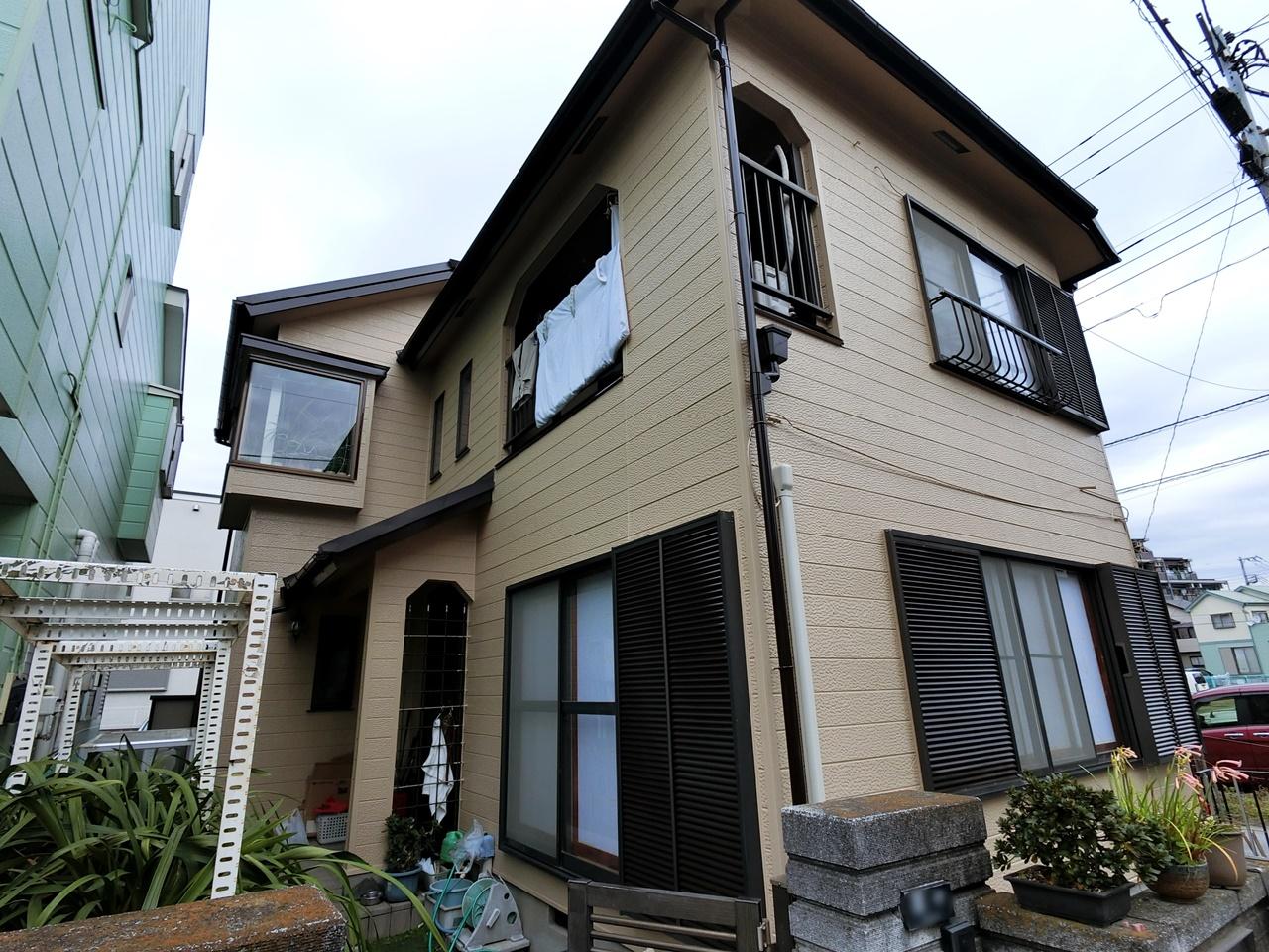 築34年、屋根カバー工法+外壁塗装でまだまだずーっと安心プラン!
