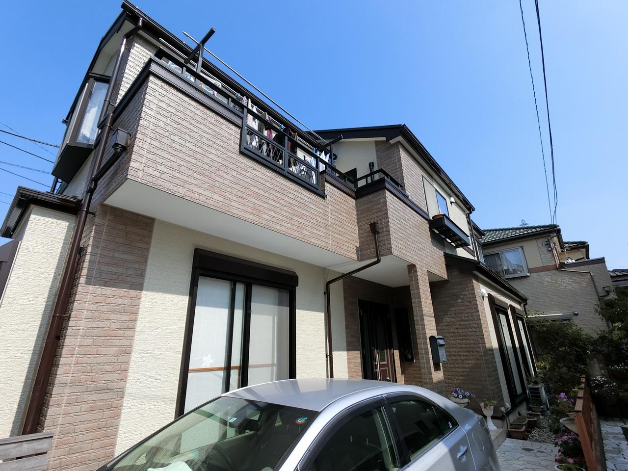 屋根フッ素・外壁シリコン塗装&高耐候シール イクシード!!